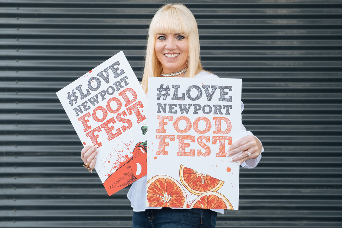 Newport food festival photography