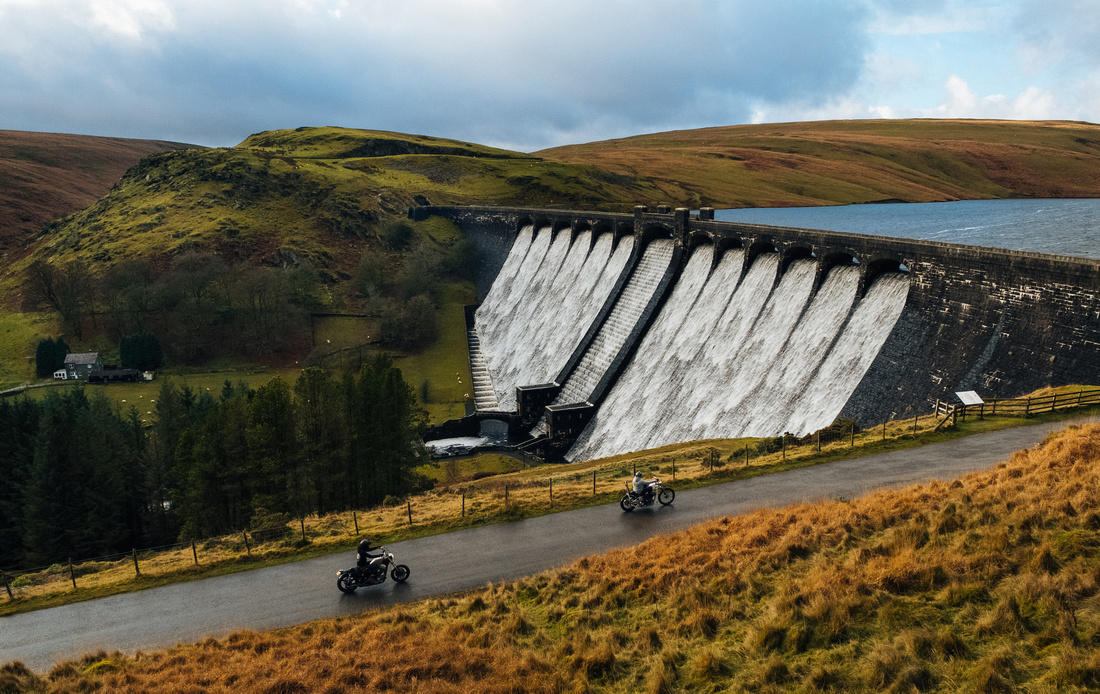 FTH, Fuck the haters, Elan Valley photography, motorcycle road trip photography, Mid Wales.
