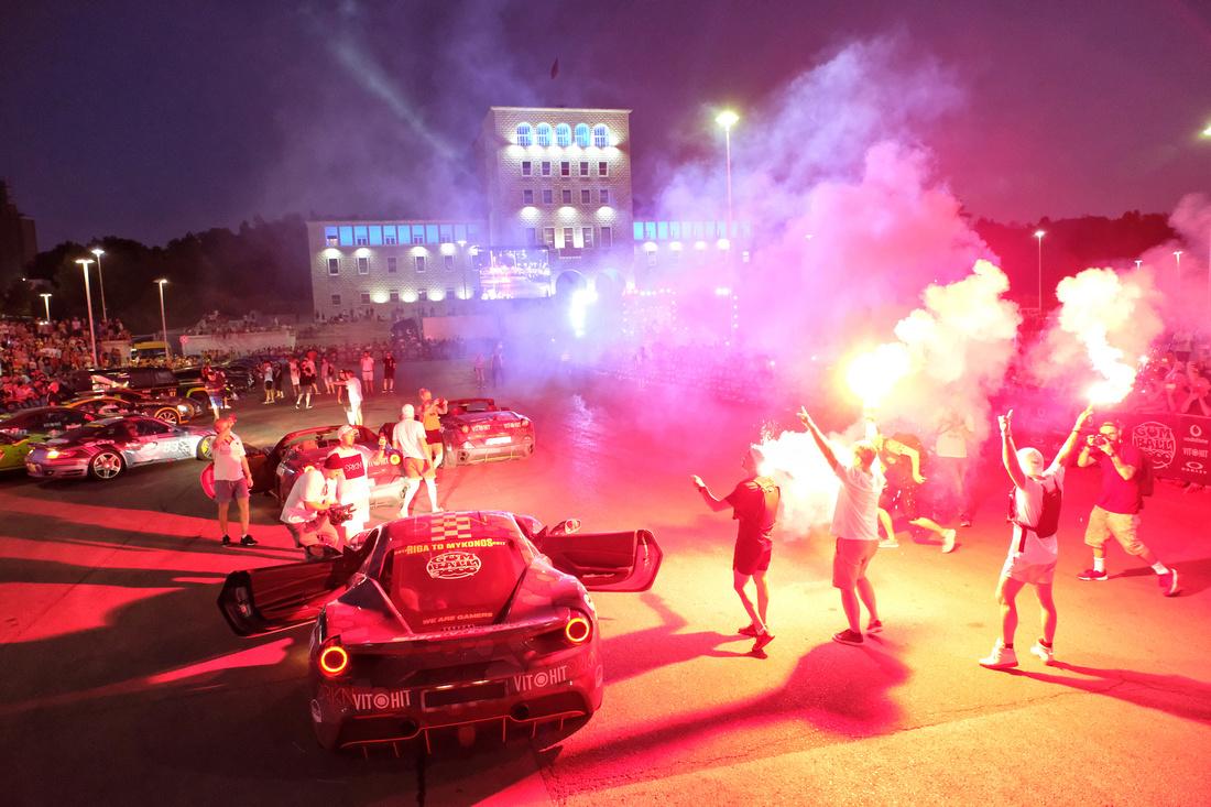 Gumball 3000 2017 Riga to Mykonos